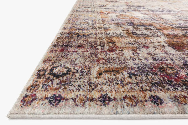 Closeup loloi Rugs area rugs Anastasia Area Rugs By Loloi Rugs AF-08 Slate-Multi in 15 Sizes
