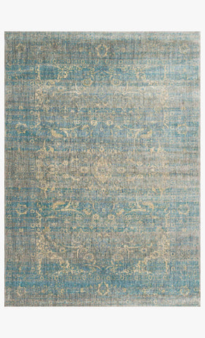 loloi Rugs area rugs Anastasia Area Rugs By Loloi Rugs AF-10 Lt Blue-Mist in 15 Sizes