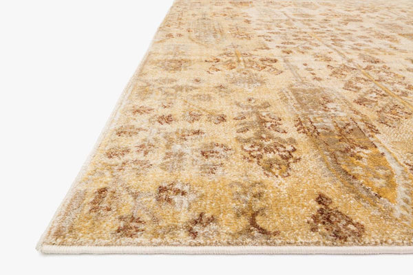 Closeup loloi Rugs area rugs Anastasia Area Rugs By Loloi Rugs AF-11Ant Iv-Gold in 15 Sizes