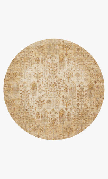 Round loloi Rugs area rugs Anastasia Area Rugs By Loloi Rugs AF-11Ant Iv-Gold in 15 Sizes