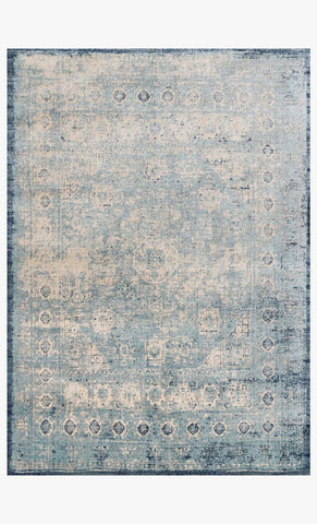 loloi Rugs area rugs Anastasia Area Rugs By Loloi Rugs AF-14 Lt Blue-Ivory in 15 Sizes