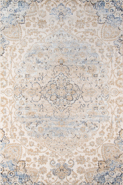 Momeni Area Rugs Amelia Area Rugs AM-01 Beige Poly Blend Power Loomed inTurkey