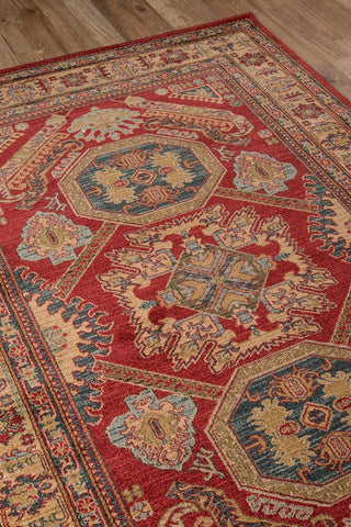 Momeni Area Rugs Ghazni Area Rugs GZ-02 Red Kazak Poly Turkey