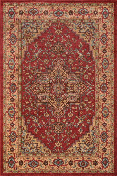 Momeni Area Rugs Ghazni Area Rugs GZ-04 Red Kazak Poly Turkey
