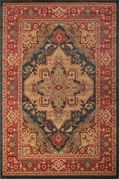 Momeni Area Rugs Ghazni Area Rugs GZ-05 Navy Kazak Poly Turkey