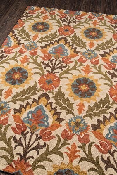 Momeni Area Rugs Tangier Area Rugs Tan-09 Gold 100% Wool Hand Hooked From India