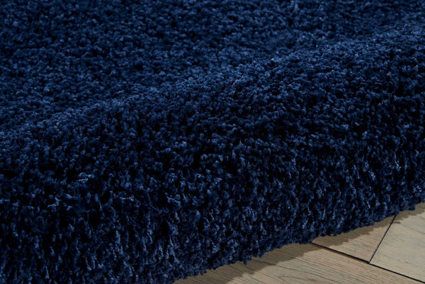 Closeup Nourison Shags Shag Rugs Amore Collection By Nourison Amor1 Blue Unique Shapes and Sizes