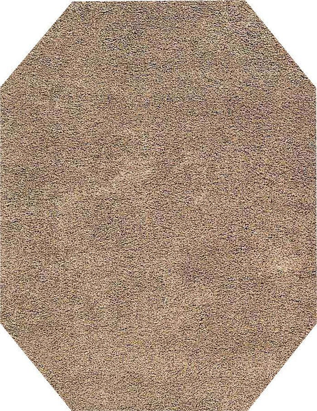 EOCT Nourison Shags Shag Rugs Amore Collection By Nourison Amor1 Oyster Unique Shapes and Sizes