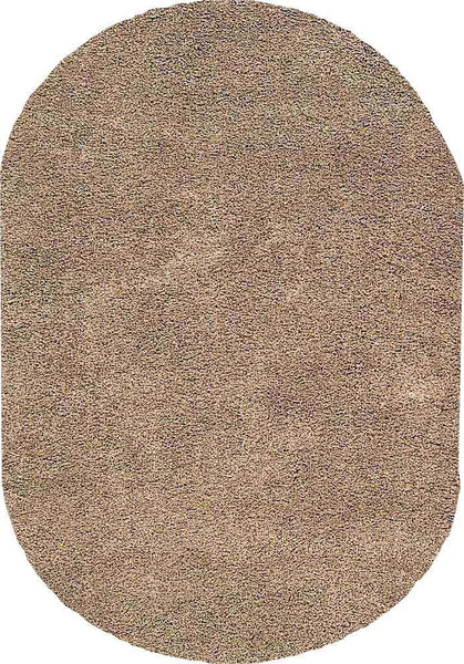 OVALS Nourison Shags Shag Rugs Amore Collection By Nourison Amor1 Oyster Unique Shapes and Sizes