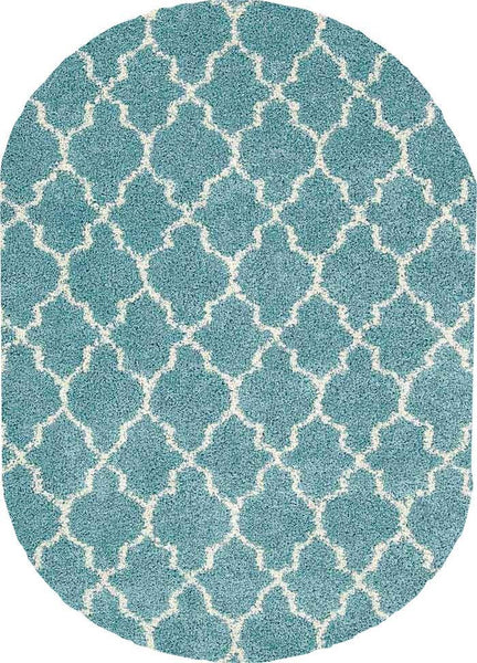 Oval Nourison Shags Shag Rugs Amore Collection By Nourison Amor2 Aqua Unique Shapes and Sizes