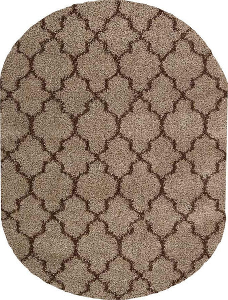 Nourison Shags Shag Rugs Amore Collection By Nourison Amor2 Latte Unique Shapes and Sizes