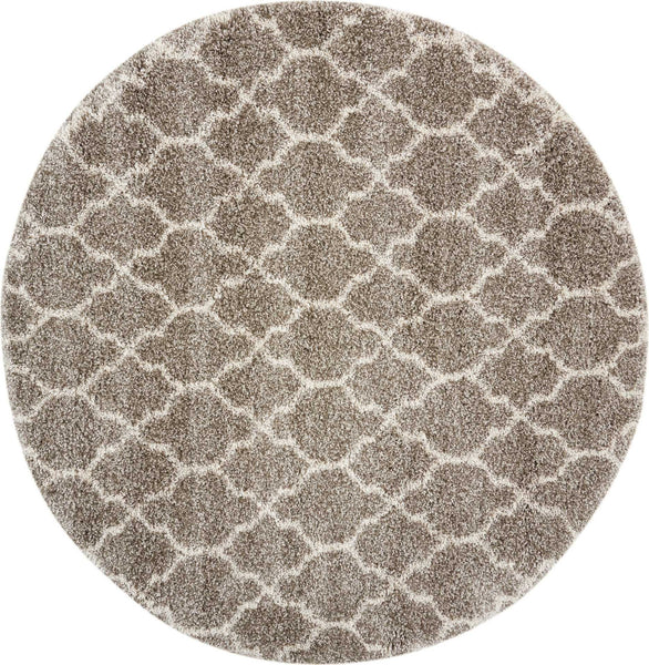 Nourison Shags Shag Rugs Amore Collection By Nourison Amor2 Stone  Unique Shapes and Sizes