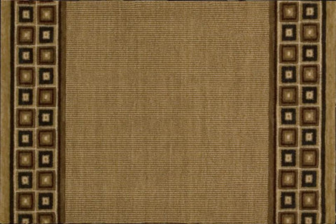 Nourison Stair Runner Cosmopolitan Brown Stair Runner C57R-R71 - 30 inch Sold By the Foot