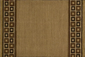 Nourison Stair Runner Cosmopolitan Wool Brown Stair Runner C57R-R71 - 36 Sold By the Foot