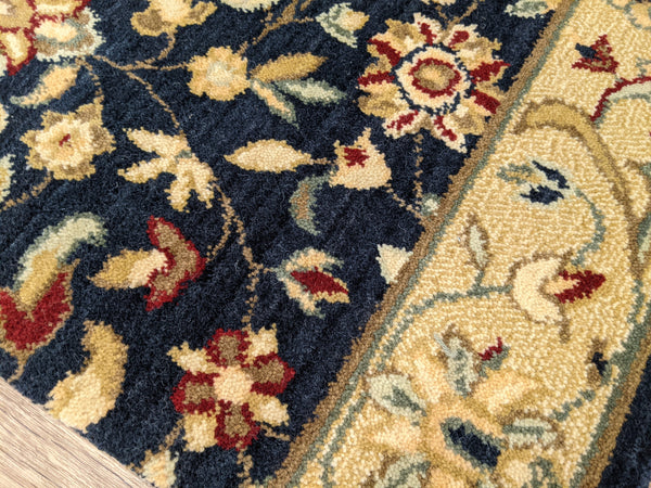 Nourison Stair Runner Estate 2 Stair Runner Sagamore Night Fall 30in and 36in Wool-Sold by the Foot