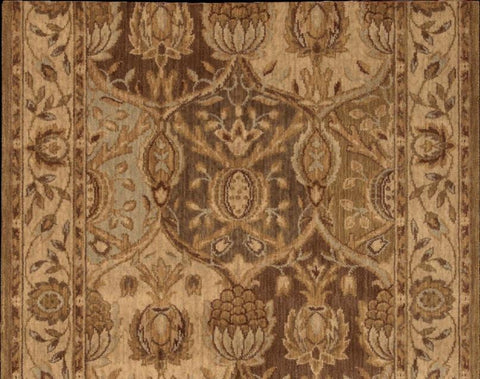 Nourison Stair Runner Grand Parterre  PT04-GOLD Stair Runner 30 in Sold By the Foot
