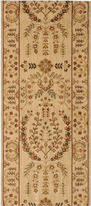 Nourison Stair Runner Grand Parterre Wool Stair Runner PT02-Beige 30In Sold By the Foot