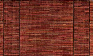 Nourison Stair Runner Grand Textures Wool Stair Runner PT44-Autumn- 30 inch  Rust Sold By the Foot