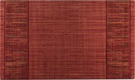 Nourison Stair Runner Grand Textures Wool Stair Runner PT44Cayenne 30 inch  Sold By the Foot