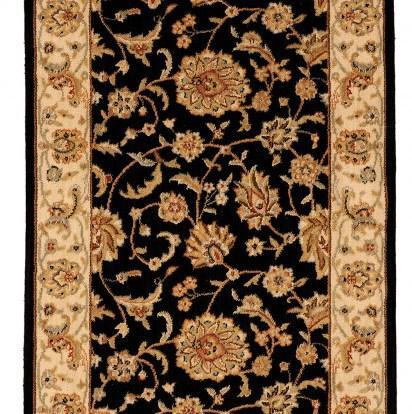 Nourison Stair Runner Sultana Onyx Stair Runner SU21ONYX - 27 inch  Sold By the Foot