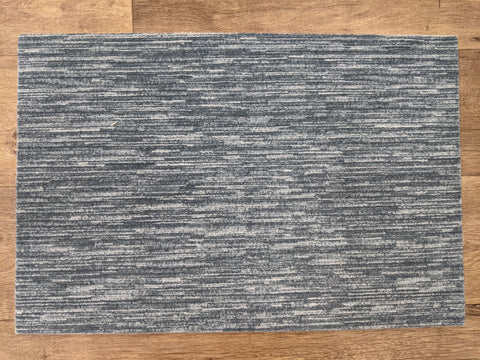 Nourison Stair Runners Elegance Velvet Chic H0010 Denim Area Rugs and Stair Runners By Hagaman