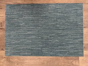 Nourison Stair Runners Elegance Velvet Chic H0023 Teal Area Rugs and Stair Runners By Hagaman