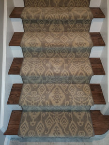 Nourison Stair Runners Eurasia Istanbul Pebblestone Stair Runner Wool 30 In Sold By The Foot
