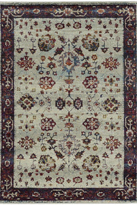 Oriental Weavers Area Rugs Andorra Area Rugs 6842d Lt Blue Nylon/Poly Blend Made in USA