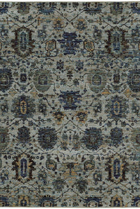 Oriental Weavers Area Rugs Andorra Area Rugs 7120a Lt Gray Nylon/Poly Blend Made in USA