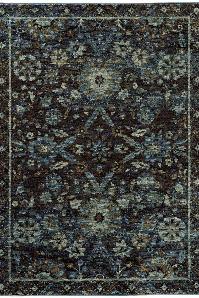 Oriental Weavers Area Rugs Andorra Area Rugs 7124a  Nylon/Poly Blend Made in USA