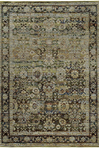 Oriental Weavers Area Rugs Andorra Area Rugs 7125c Multi Nylon/Poly Blend Made in USA