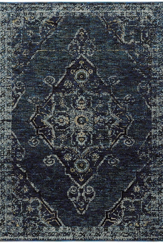 Oriental Weavers Area Rugs Andorra Area Rugs 7135f Black Nylon/Poly Blend Made in USA