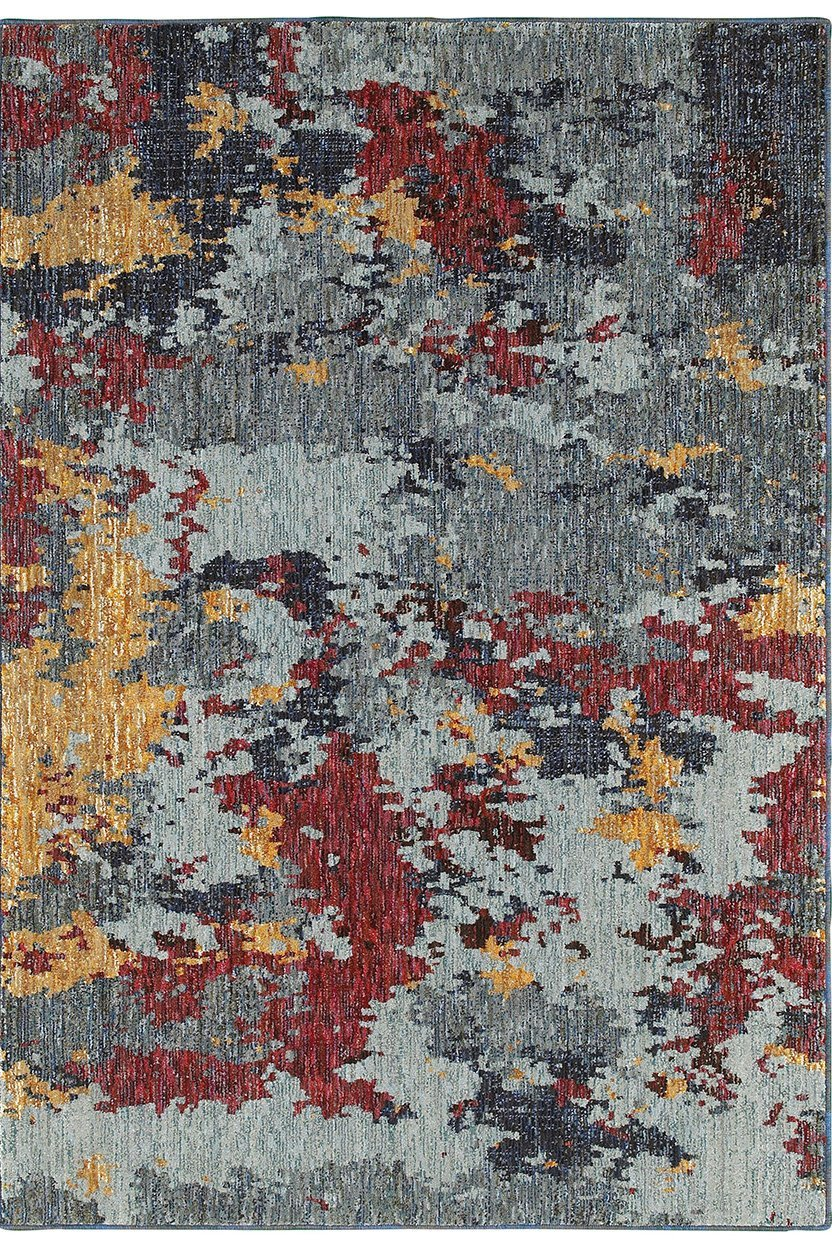 Oriental Weavers Area Rugs Evolution Area Rugs 8036c Nylon/Poly Blend Made in USA