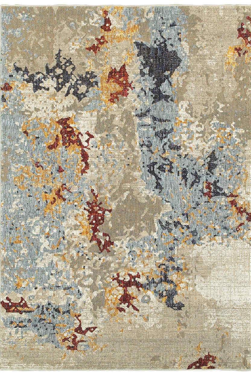 Oriental Weavers Area Rugs Evolution Area Rugs 8043k Nylon/Poly Blend Made in USA