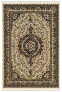 Oriental Weavers Area Rugs Masterpiece Beige Area Rug 111W  2 Million PT Fine Polypropylene