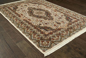 Oriental Weavers Area Rugs Masterpiece Beige Area Rug 5560W 2 Million PT Fine Polypropylene