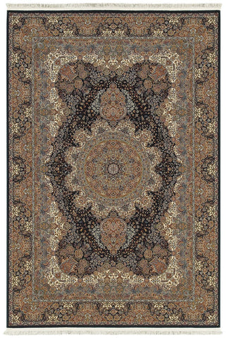 Oriental Weavers Area Rugs Masterpiece Navy Area Rug 5501K  2 Million PT Fine Polypropylene