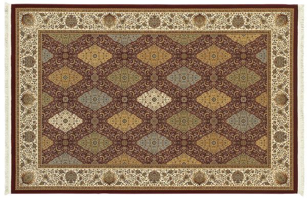 Oriental Weavers Area Rugs Masterpiece Red Area Rug 530M  2 Million PT Fine Polypropylene