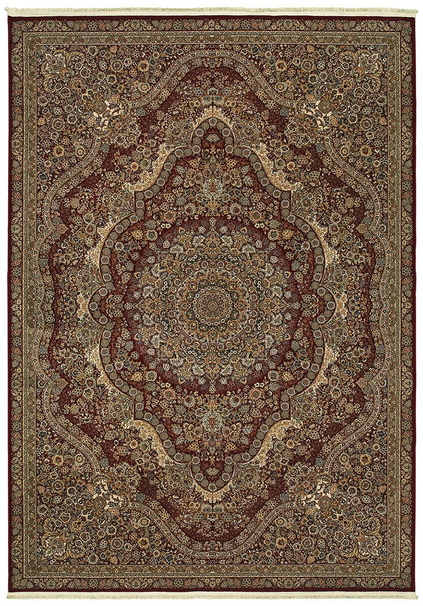 Oriental Weavers Area Rugs Masterpiece Red Area Rug 8022R  2 Million PT Fine Polypropylene