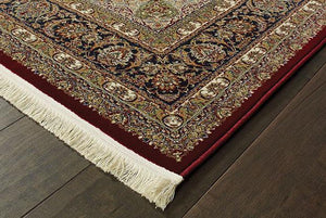 Oriental Weavers Area Rugs Masterpiece Red Area Rug 90R  2 Million PT Fine Polypropylene