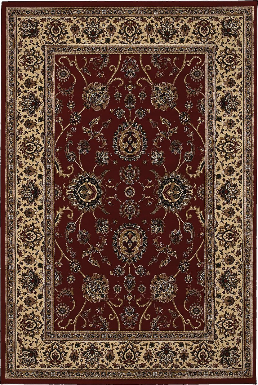 Oriental Weavers Area Rugs OW Rugs Ariana Area Rugs 130_8 Brown-Beige Polypropylene Made In USA