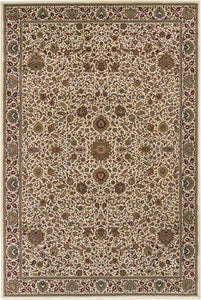 Oriental Weavers Area Rugs OW Rugs Ariana Area Rugs 172W Ivory Polypropylene Made In USA