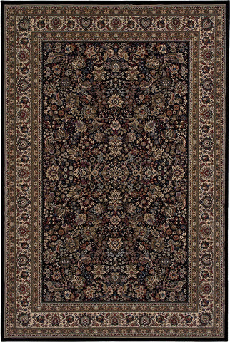 Oriental Weavers Area Rugs OW Rugs Ariana Area Rugs 213k Black Polypropylene Made In USA