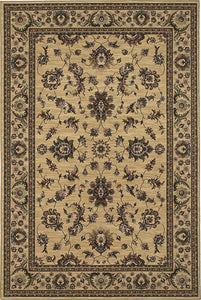 Oriental Weavers Area Rugs OW Rugs Ariana Area Rugs 311i Beige-Ivory Polypropylene Made In USA