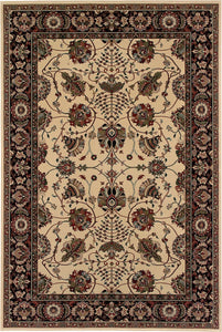 Oriental Weavers Area Rugs OW Rugs Ariana Area Rugs 431i Beige-Black Polypropylene Made In USA