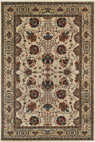 Oriental Weavers Area Rugs OW Rugs Ariana Area Rugs 431o Ivory Polypropylene Made In USA