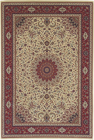 Oriental Weavers Area Rugs OW Rugs Ariana Area Rugs 95j Ivory Polypropylene Made In USA