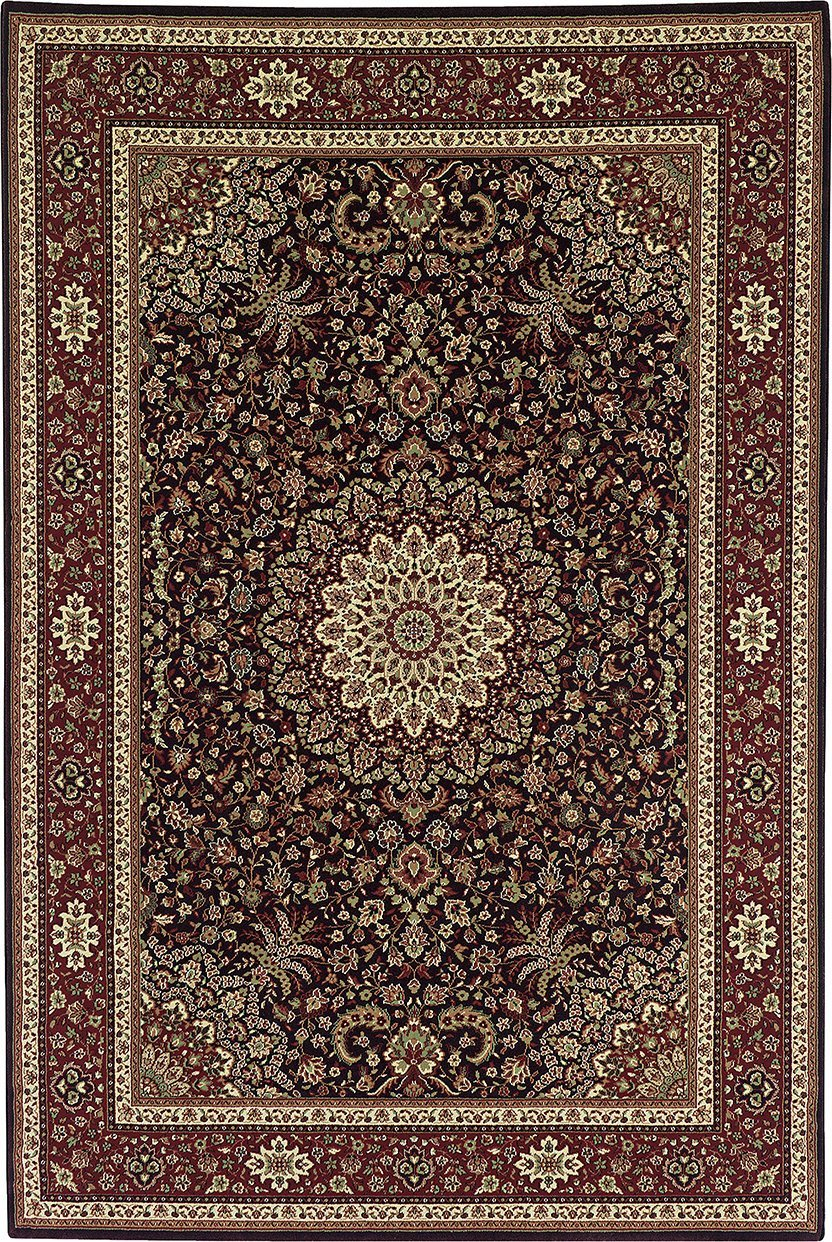 Oriental Weavers Area Rugs OW Rugs Ariana Area Rugs 95n Brown Polypropylene Made In USA