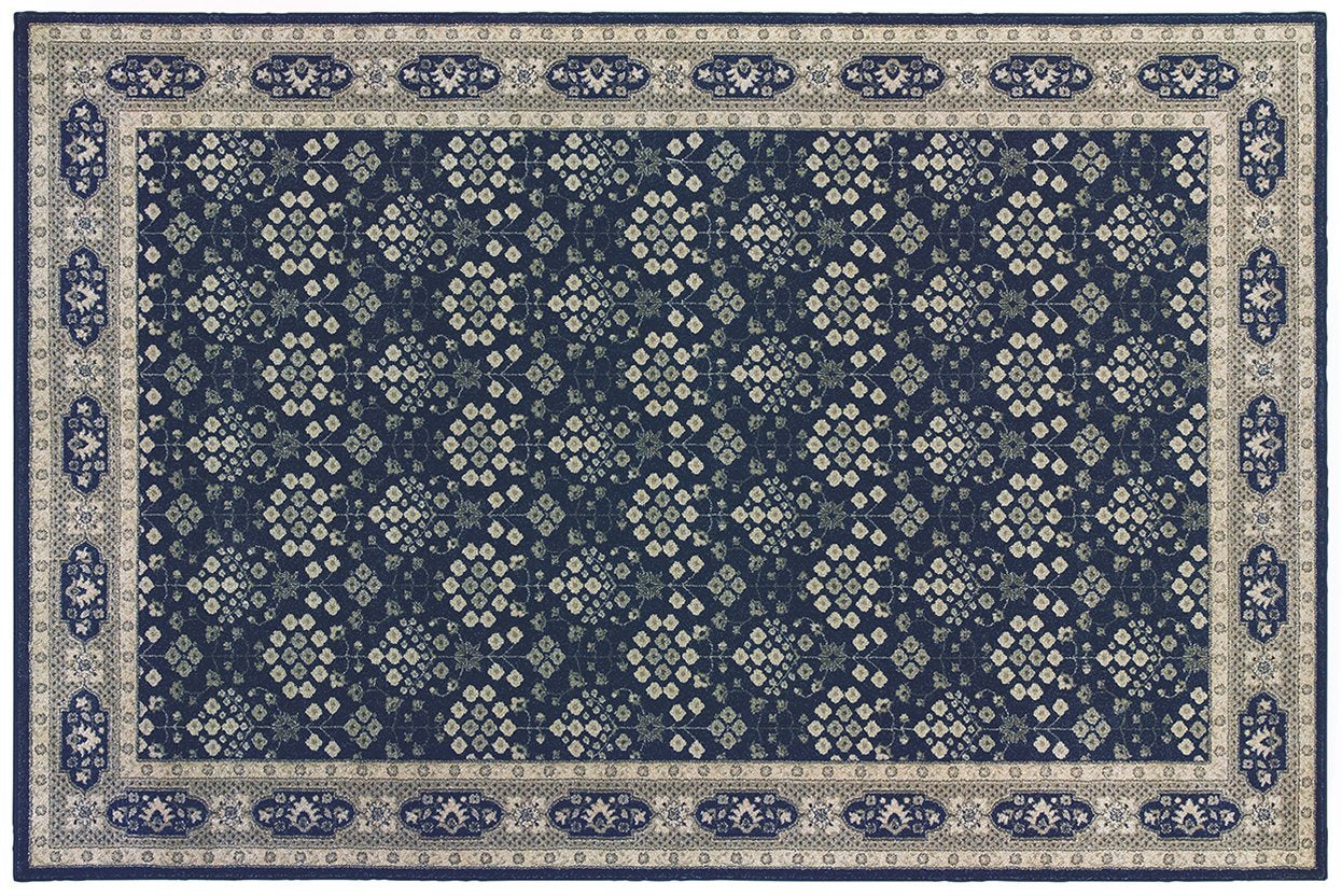 Oriental Weavers Area Rugs Richmond Area Rugs By OW Rugs Design 119b Blue Rug From Egypt