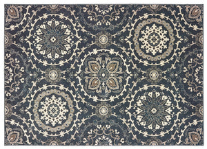Oriental Weavers Area Rugs Richmond Area Rugs By OW Rugs Design 8E Blue Rug From Egypt